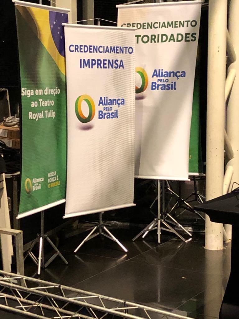 EXCLUSIVO: Veja fotos de como será o congresso do novo partido de Bolsonaro
