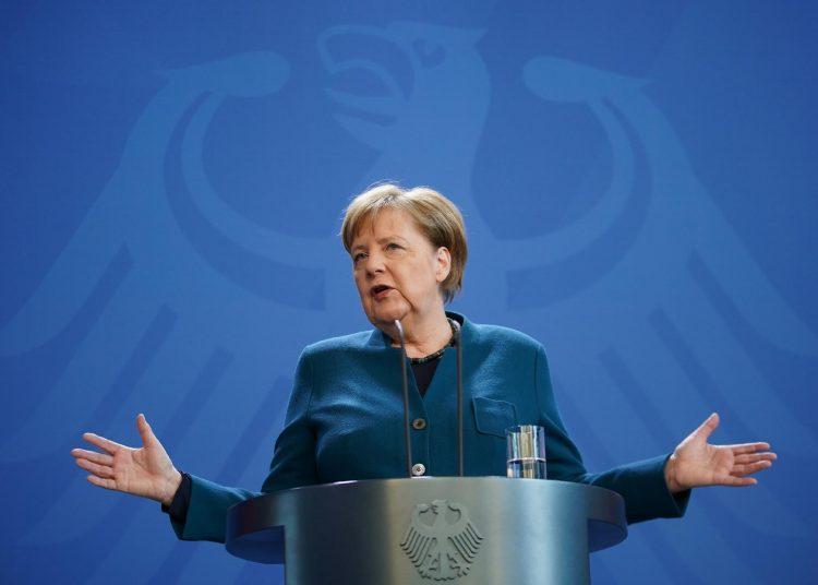 Angela Merkel (CDU), Chanceler da Alemanha.